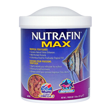 NUTRAFIN TROPICAL FISH FLAKES 215G.