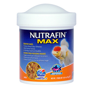NUTRAFIN GOLDFISH FLAKES 19G.