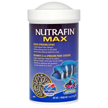 NUTRAFIN CICHLID SPIRULINA STICKS 112G.