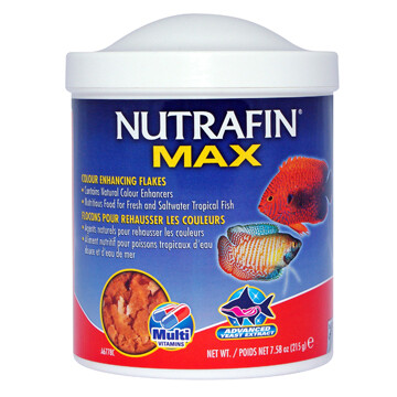 NUTRAFIN TROICAL COLOUR ENCHANCING FLAKES 215G.