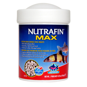 NUTRAFIN BOTTOM FEEDER SINKING TABLETS 120G.