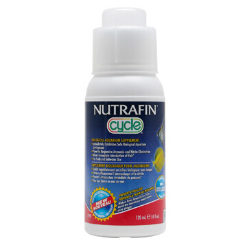 NUTRAFIN CYCLE BIOLOGICAL SUPPLEMENT 120ML.