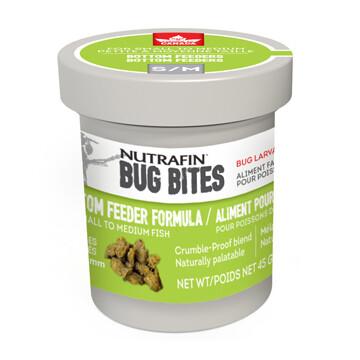 NUTRAFIN BUG BITES BOTTOM FEEDER FORMULA SM 45G.