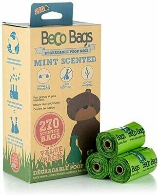 BECO BAGS MINT SCENT VALUE 270PK.