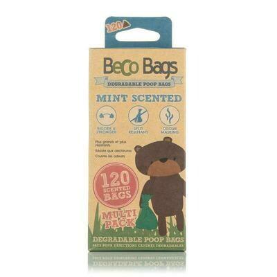 BECO BAGS MINT SCENT MULTI 120PK.