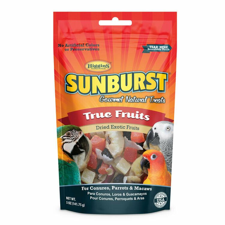 SUNBURST BIRD TRUE FRUITS TREAT 5OZ.