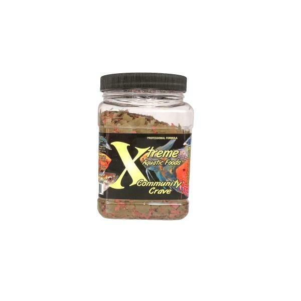 XTREME AQUATIC FOOD COMMUNITY CRAVE FLAKE 3.5OZ.