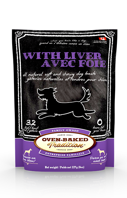 OVEN BAKED DOG TREAT - LIVER 8 OZ.