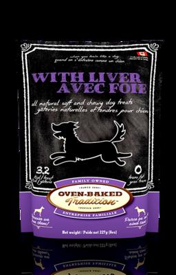 OVEN BAKED DOG TREAT - LIVER 8 OZ.