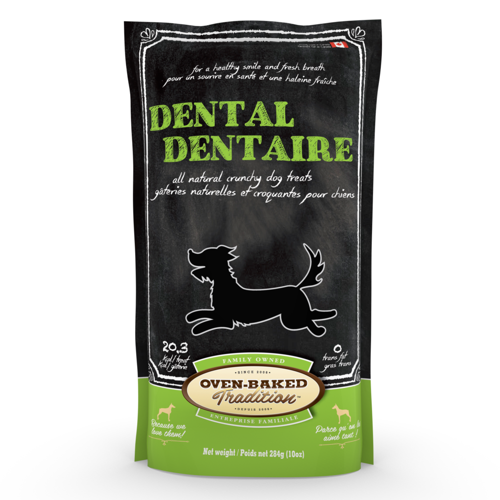 OVEN BAKED DOG TREAT - DENTAL 10 OZ.