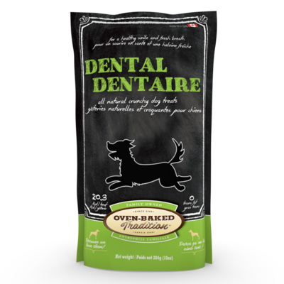 OVEN BAKED DOG TREAT - DENTAL 10 OZ.