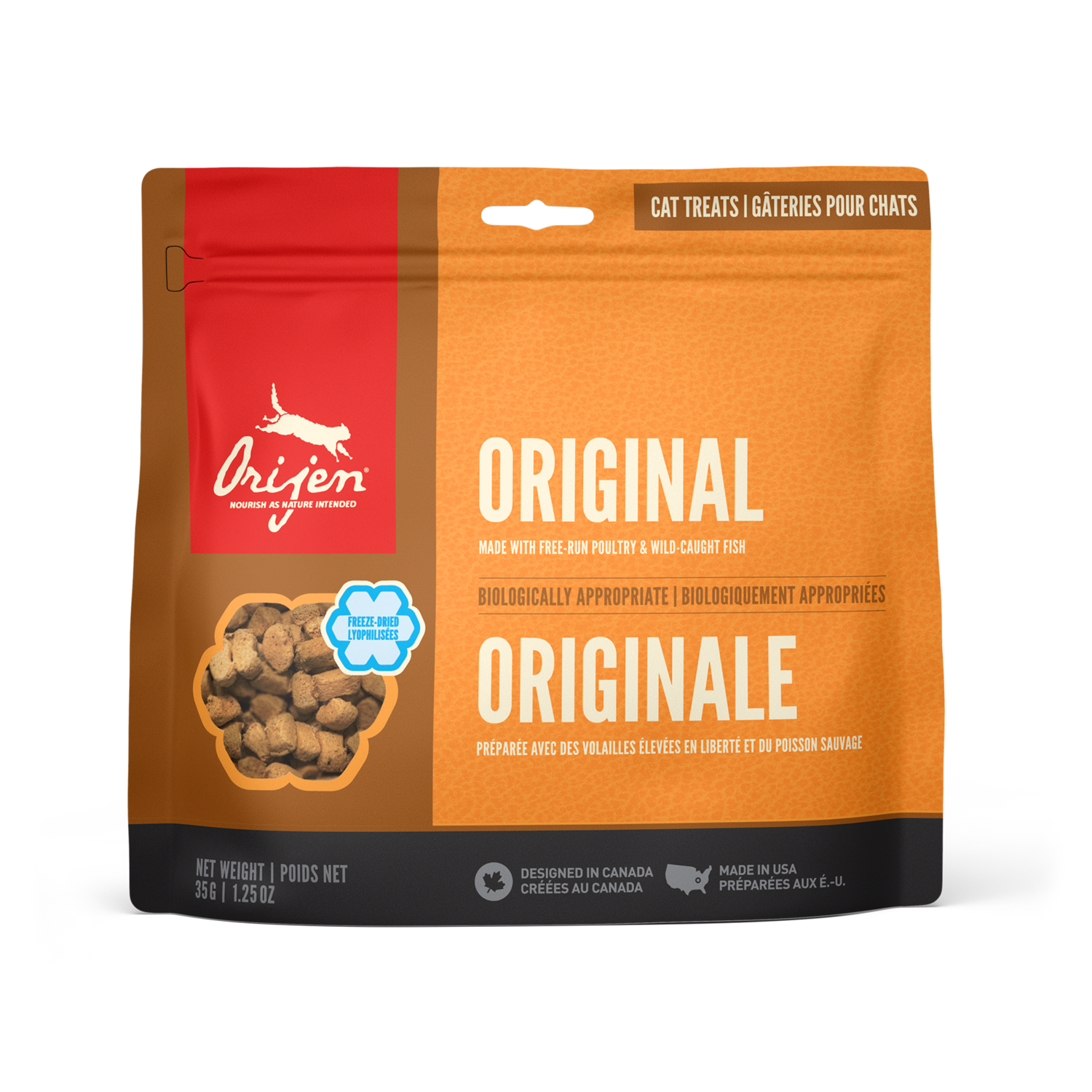 ORIJEN CAT TREAT ORIGINAL 35GM.