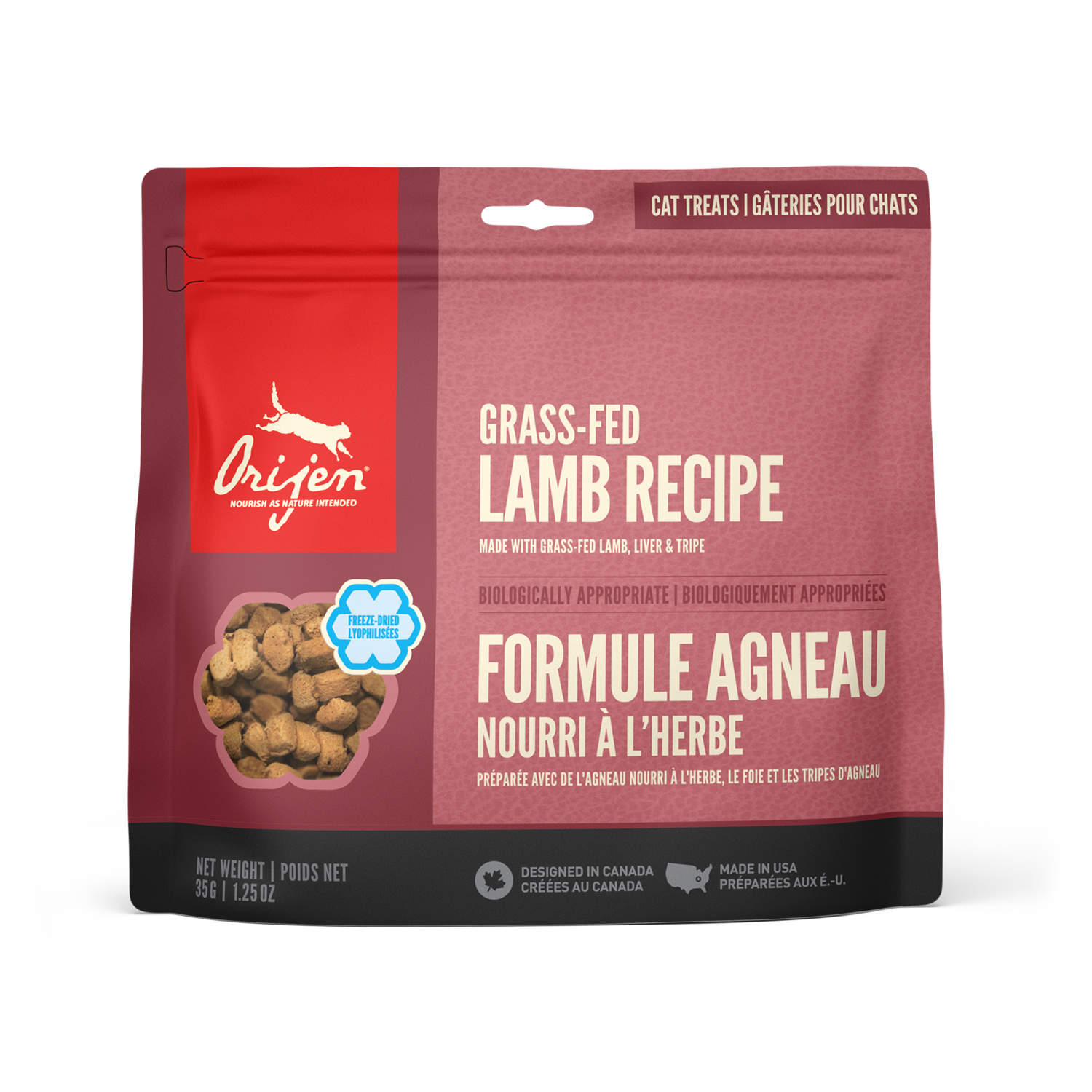 ORIJEN CAT TREAT LAMB 35G.
