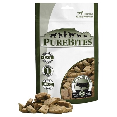 PURE BITES BEEF LIVER 470G.