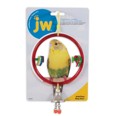 JW BIRD ACTIVITOY RING CLEAR.