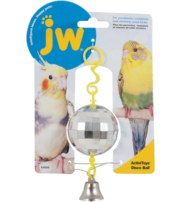 JW BIRD ACTIVITOY DISCO BALL.