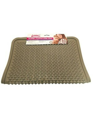 PAWISE SCATTER CONTROL LITTER MAT.