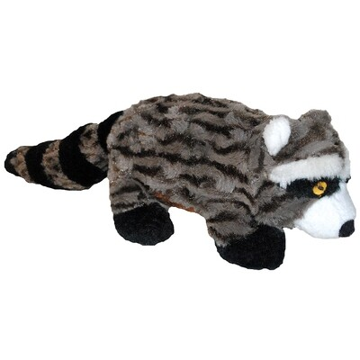 PATCHWORK SWIRL RACOON 8IN.
