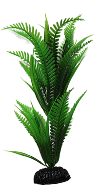 AL PLASTIC PLANT FERN 8IN.