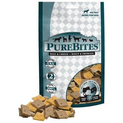 PURE BITES BEEF & CHEESE 120GM.