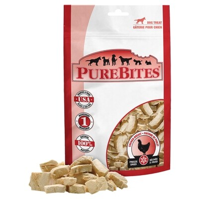 PURE BITES CHICKEN BREAST 40G.