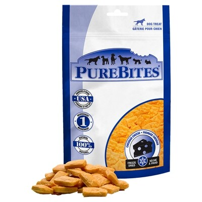 PURE BITES CHEDDAR CHEESE 120GM.