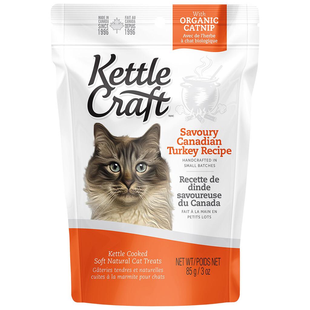 KETTLE CRAFT CAT TREAT TURKEY 85GM.