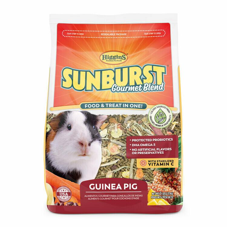 SUNBURST GUINEA PIG FOOD 3LB.