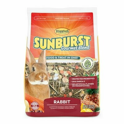 SUNBURST RABBIT FOOD 3LBS.