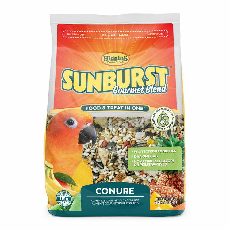 SUNBURST CONURE FOOD 3LB.