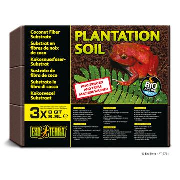 EXO TERRA PLANTATION SOIL 3PK.