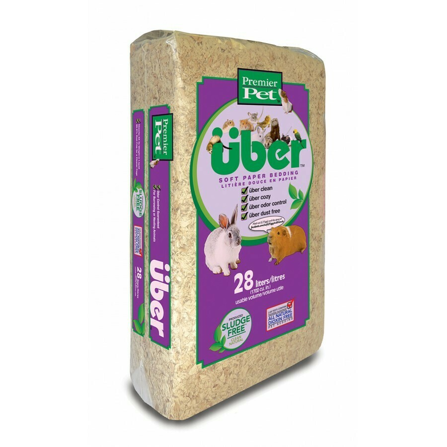 UBER NATURAL BEDDING 28L.