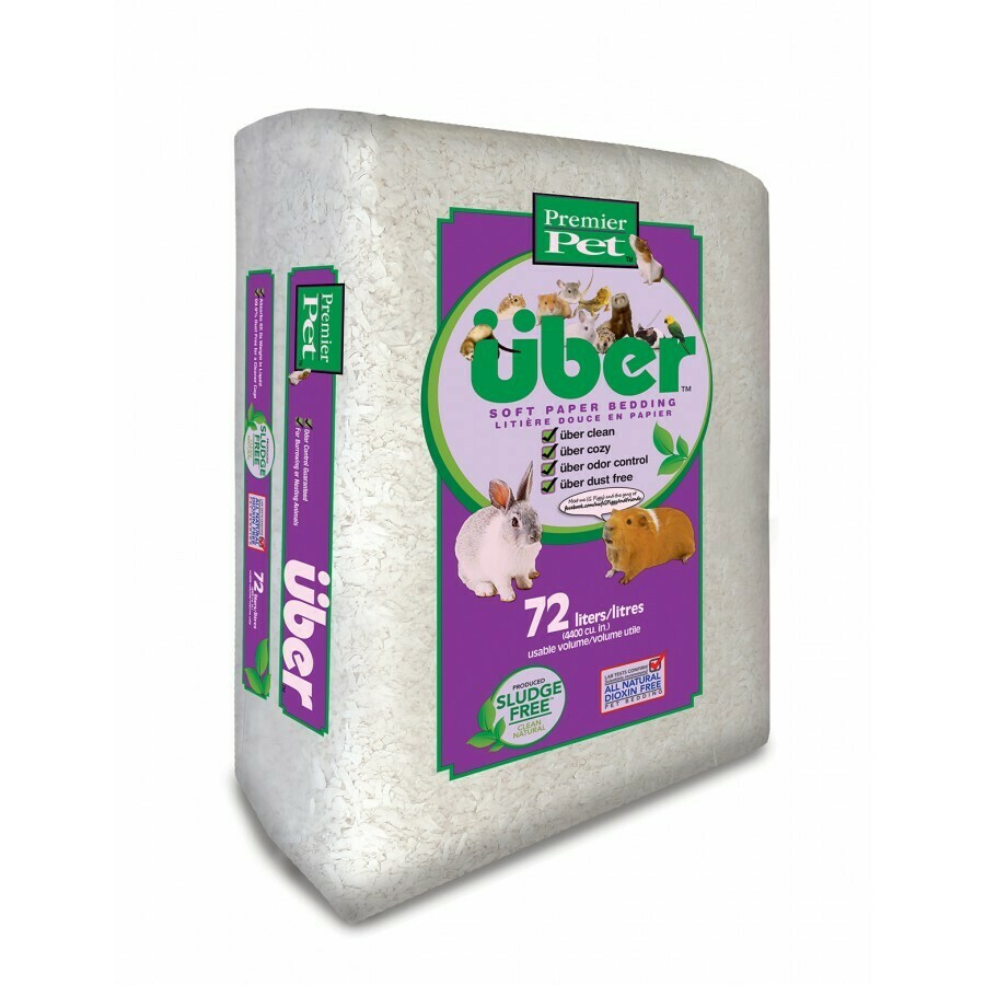 UBER WHITE BEDDING 72L.
