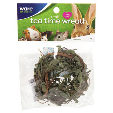 WARE SM ANIMAL TEA TIME WREATH SM.