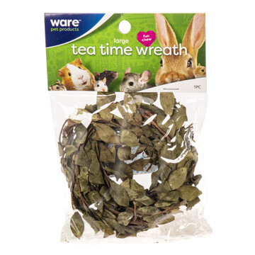 WARE SM ANIMAL TEA TIME WREATH LGE.