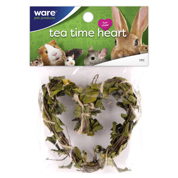 WARE SM ANIMAL TEA TIME HEART.