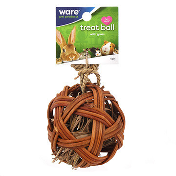 WARE SM ANIMAL EDIBLE TREAT BALL.