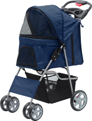PAWISE PET STROLLER BLUE