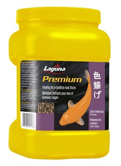 LAGUNA PREMIUM KOI & GOLDFISH FLOATING FOOD STICKS 310G (11 oz)