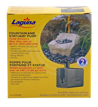 LAGUNA FOUNTAIN & STATUARY PUMP 80 US GPH