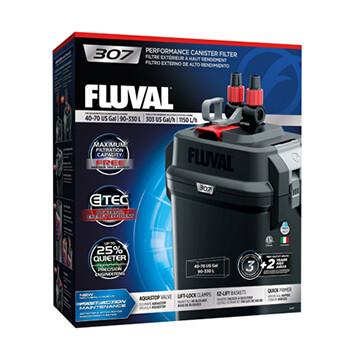 FLUVAL 307 EXTERNAL CANISTER FILTER.