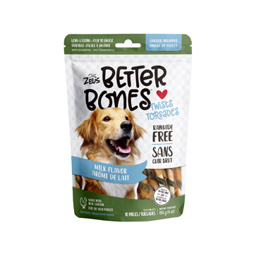 ZEUS BETTERBONES MILK - WRAPPED TWIST 10 PK.