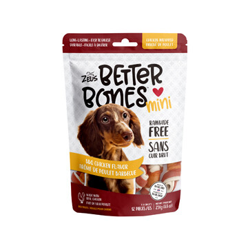 ZEUS BETTERBONES ALMOND - WRAPPED BONE 12 PK.
