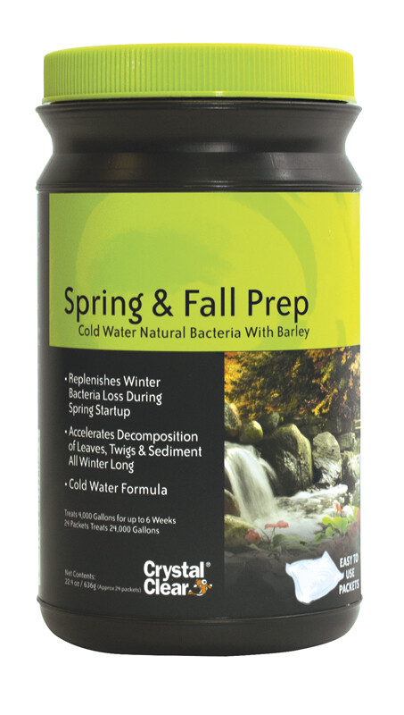 SPRING & FALL PREP COLD WATER NATURAL BACTERIA W/BARLEY 12PK