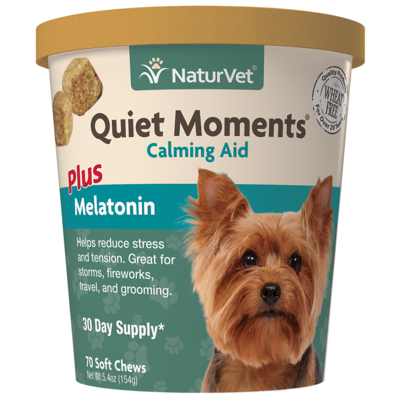 NATURVET QUIET MOMENTS SOFT CHEW 70CT.