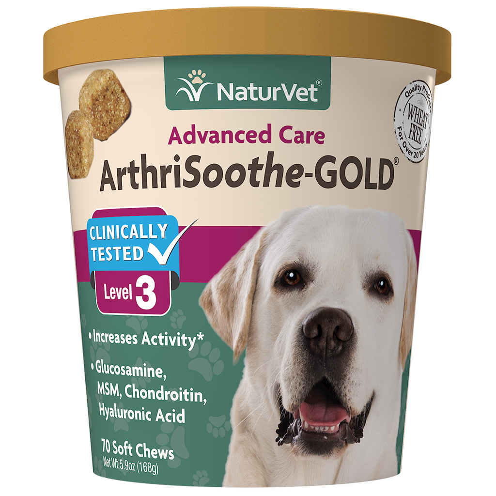 NATURVET ARTHRISOOTHE GOLD SOFT CHEW 70CT.