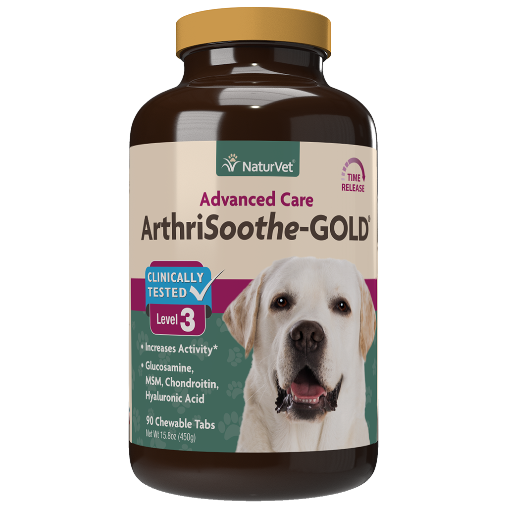 NATURVET ARTHRISOOTHE GOLD 90CT.
