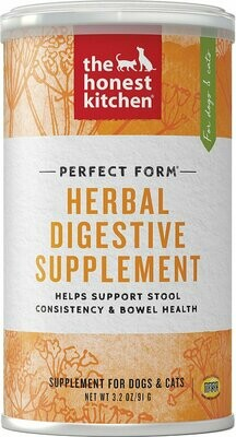 HONEST KITCHEN HERBAL DIGESTIVE SUPPLEMENT 3.2OZ.