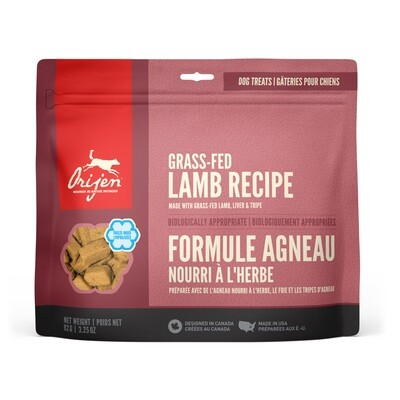 ORIJEN DOG TREAT LAMB 92G.