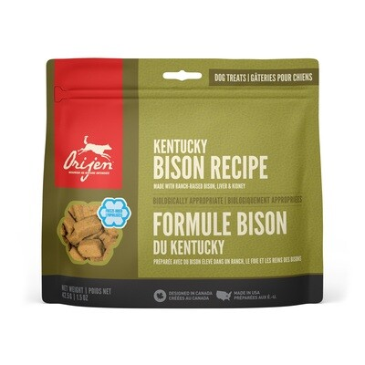 ORIJEN DOG TREAT BISON 42.5G.